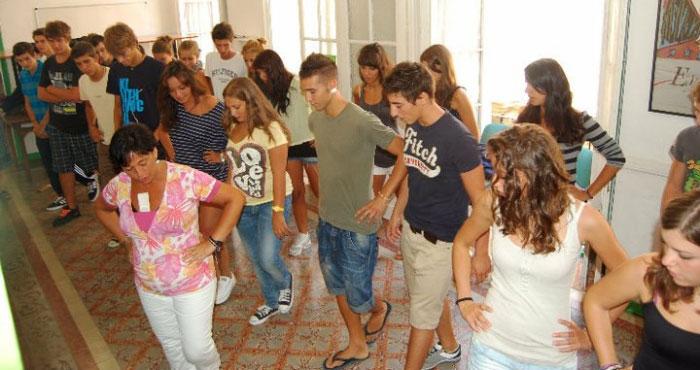 dancing class flamenco