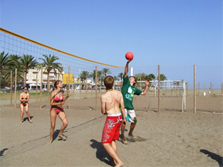 volleyball playa malaga